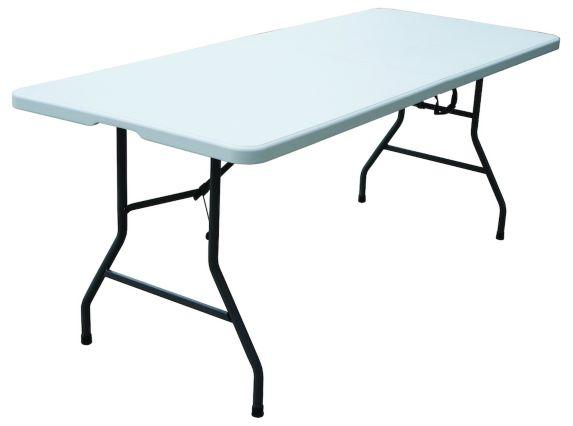 Table pliante For Living avec poignée de transport, 6 pi Image de l'article