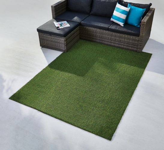 FOR LIVING Shag Turf Rug, 5-ft x 7-ft Product image