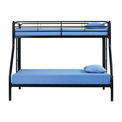 Dorel Twin/Full Metal Bunk Bed