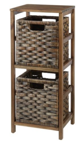 For Living Kirana Wicker 2-Drawer Storage Unit Product image