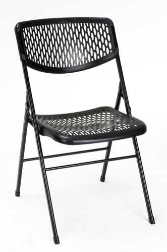Chaise pliante en mailles