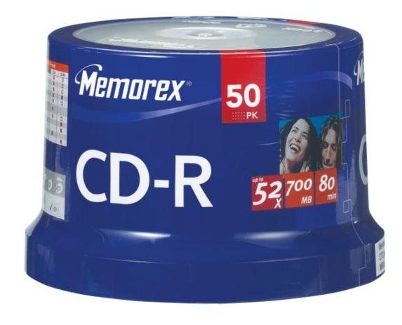 50 CD-R Maxell Image de l'article