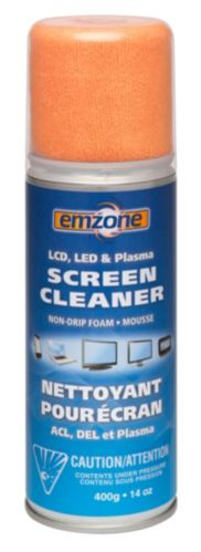 Emzone Screen Cleaner with Cloth, 14-oz Product image