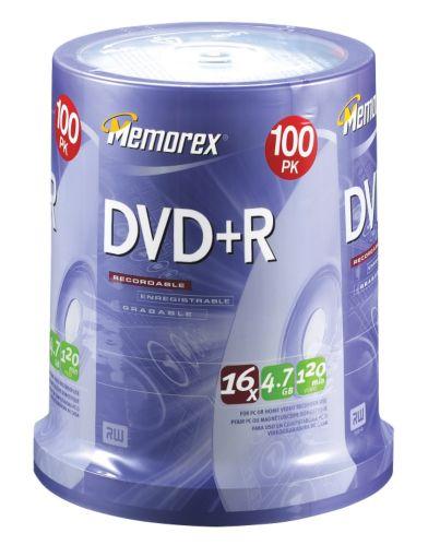Memorex DVD+R 100-pack Spindle Product image