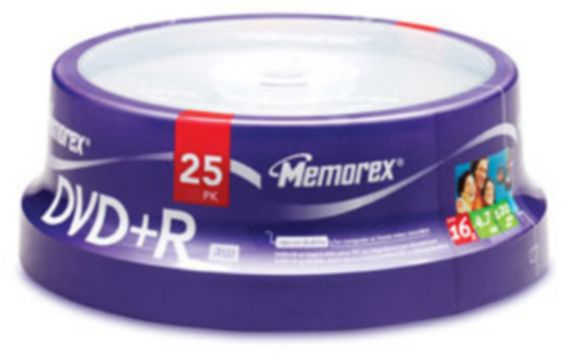 Memorex DVD+R 25-pack Spindle Product image