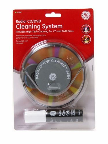 GE Radial CD/DVD Cleaning System Product image