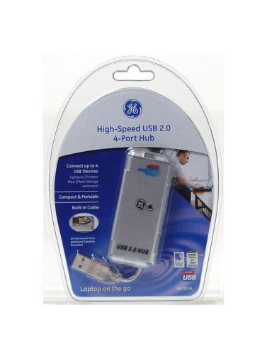 Concentrateur USB 2.0 GE, 4 ports, haute vitesse Image de l'article