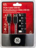 GE Multi-Cable USB Kit | GEnull