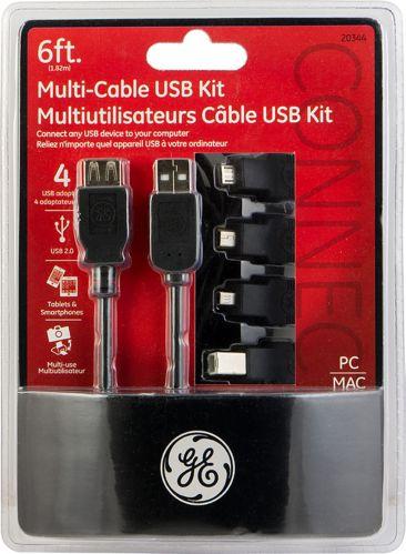 GE Multi-Cable USB Kit