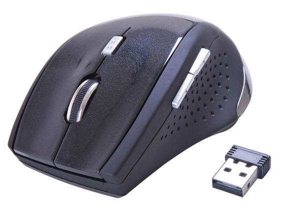 Alden Design Wireless Optical Mouse, Metallic Product image