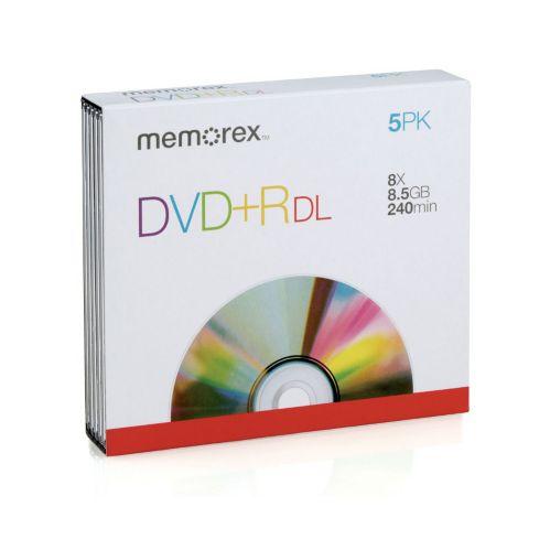 DVD+R Memorex, deux couches, paq. 5 Image de l'article