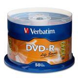 Disques DVD-R Verbatim, paq. 50 | Verbatimnull