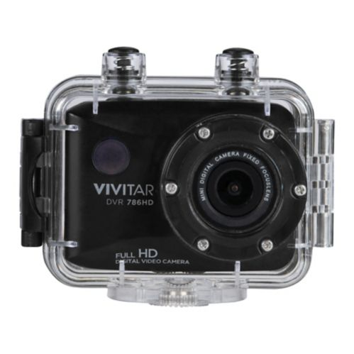 Vivitar DVR 786HD Action Camera with Handle Grip Product image