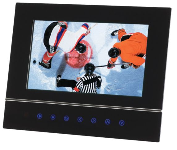 Electrohome LCD Digital Photo Frame with Touch Sensor Keys
