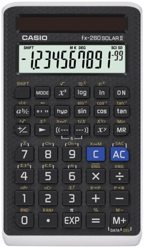 Calculatrice scientifique Casio, solaire Image de l'article