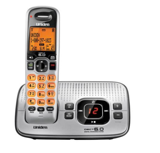 Téléphone sans fil DECT 6.0 Uniden avec répondeur