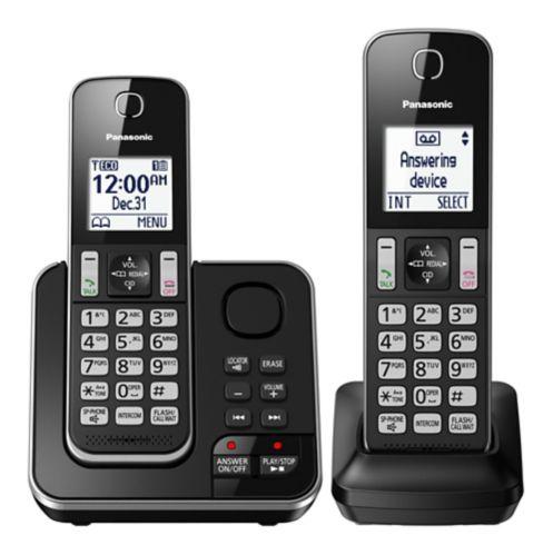 Téléphone sans fil VTech avec répondeur, 2 combinés