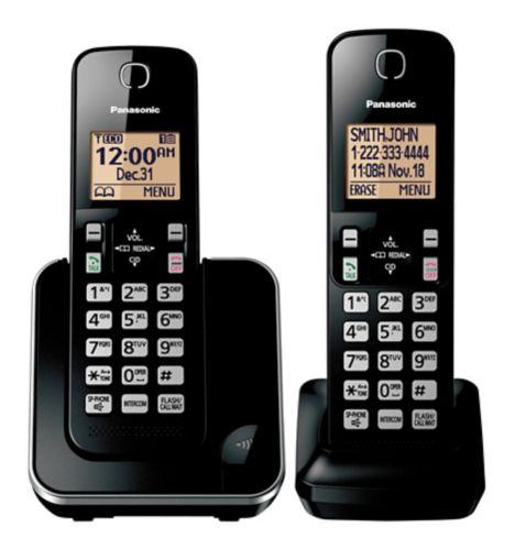 Panasonic 6.0 DECT Cordless Phone, 2-Handsets Product image