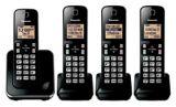 Panasonic 6.0 DECT Large Display Cordless Phone, 4-Handsets | Panasonicnull