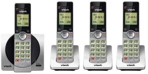 Téléphone VTech, 4 combinés sans fil avec afficheur Image de l'article