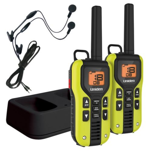 Uniden 64-km GMRS 2-Way Radio with Mic Product image