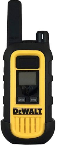 DEWALT 1W GMRS Waterproof 2-Way Radios, 2-pk