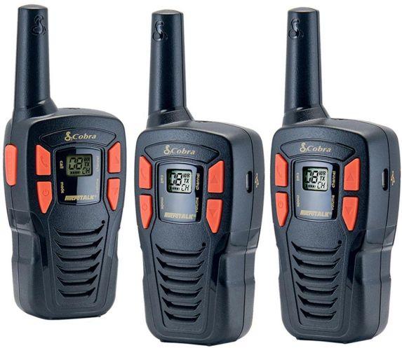 Cobra 26-km 2-Way Radio, 3-pk Product image