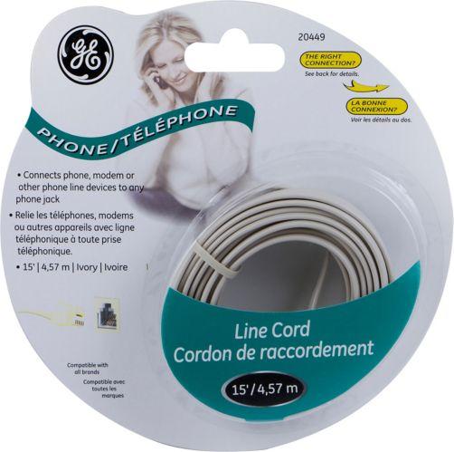 Cordon de téléphone GE, ivoire Image de l'article