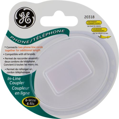 GE In-Line Coupler, 6-Wire Product image