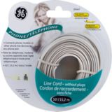 GE Line Cord without Plugs, Ivory, 50-ft | GEnull