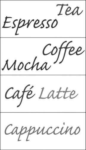 Snap! Instant Wall Art, Cafe Espresso Product image