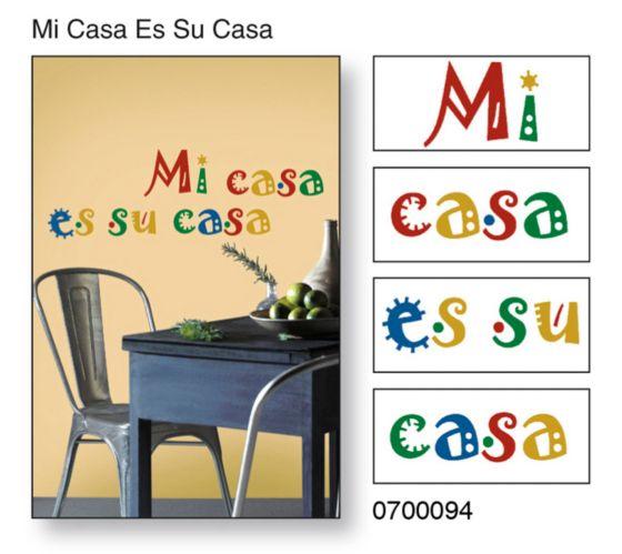 Snap! Instant Wall Art, Mi Casa Es Su Casa Product image