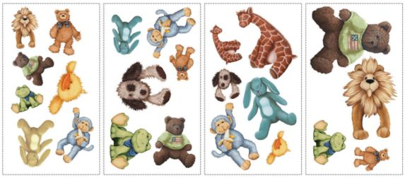 Cuddle Buds Wall Appliques Product image