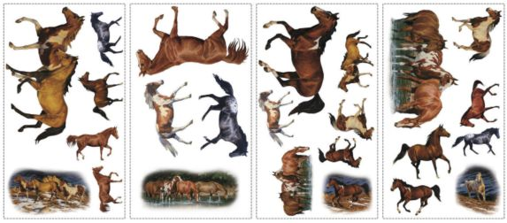 Horses Wall Appliques Product image