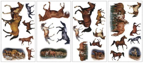 Applique murale, chevaux Image de l'article