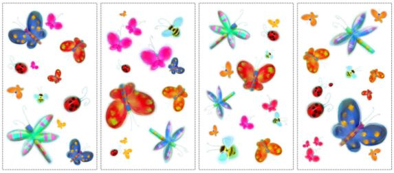 Jelly Bug Wall Appliques Product image