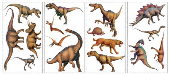 Applique murale, dinosaures Image de l'article