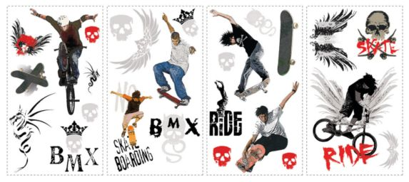 Extreme Sports Wall Appliques Product image