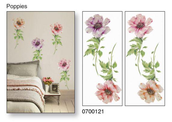 Applique murale Snap!, pavots Image de l'article