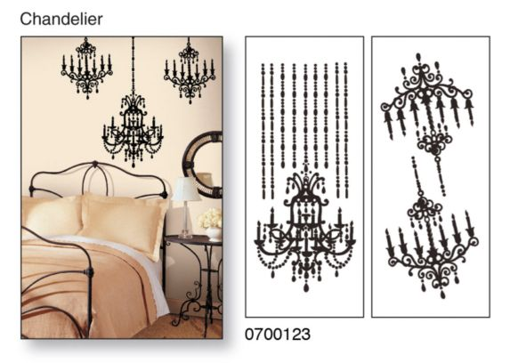 Snap! Instant Wall Art, Chandelier Product image