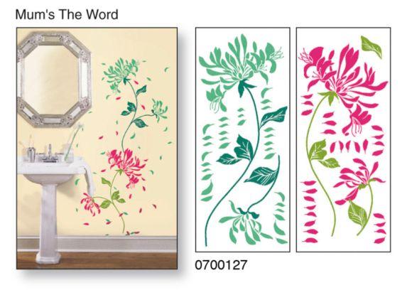 Applique murale Snap!, chrysanthème Image de l'article