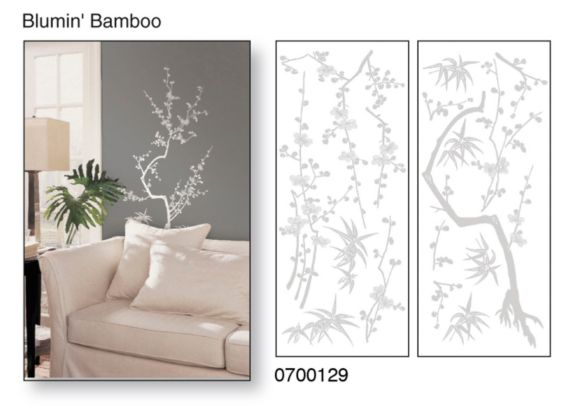 Snap! Instant Wall Art, Bloomin' Bamboo