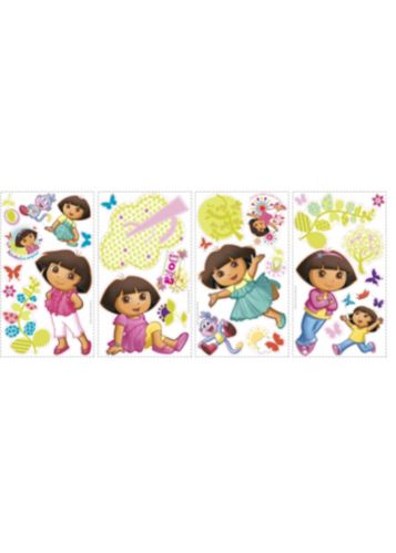 RoomMates Dora the Explorer Peel & Stick Wall Decals Product image