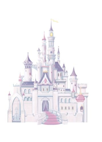 RoomMates Disney Princess Giant Castle Wall Decals