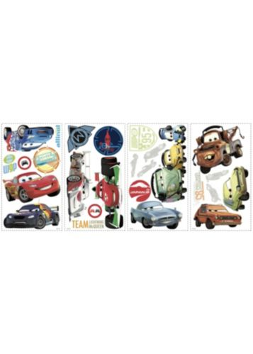 RoomMates Cars 2 Wall Decals, 26-pk