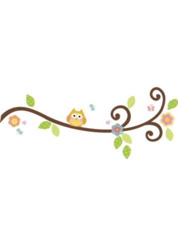 RoomMates Happi Scroll Branch Wall Decals