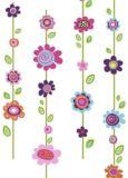 Décalcomanies murales géantes RoomMates fleurs | RoomMatesnull
