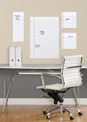 RoomMates Notebook Dry Erase Peel & Stick Wall Decals Product image