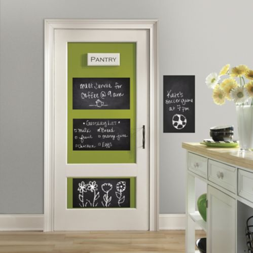 RoomMates Chalkboard Peel & Stick Wall Decal