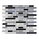 Carreaux muraux rectangulaires, urbain, peler et presser, paq. 4 | Peel & Impressnull